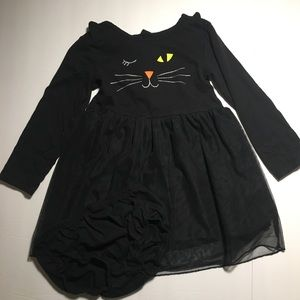 Carters 24M Girl's Cat Halloween Dress